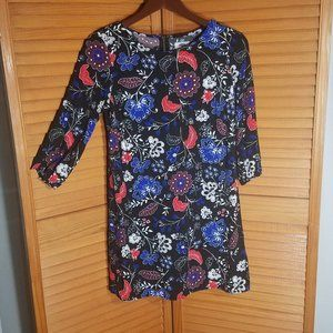 OLD NAVY Black & Floral Dress